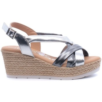 Zapatos Mujer Sandalias Oh My Sandals 4372 Gris