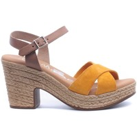 Zapatos Mujer Sandalias Oh My Sandals 4376 amarillo