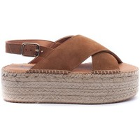 Zapatos Mujer Sandalias Senses & Shoes 3071 Beige