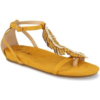 Zapatos Mujer Sandalias Festissimo C3829 Amarillo