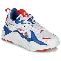 Zapatos Niños Zapatillas bajas Puma RS-X Blanco / Azul / Rojo