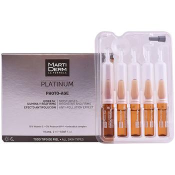 Belleza Antiedad & antiarrugas Martiderm Platinum Photo-age Ampoules  10 x 2 ml