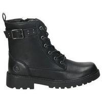 Zapatos Niños Botas de caña baja Chika 10 Bota estilo militar CHiKa10 DADO 01 negra Noir