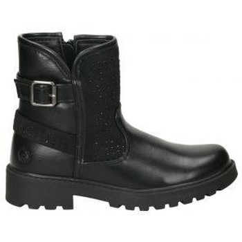 Zapatos Niña Botas de caña baja Chika 10 Botines chk10 dado 07 niña negro Noir