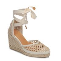 Zapatos Mujer Sandalias Castaner CAROLA Crema