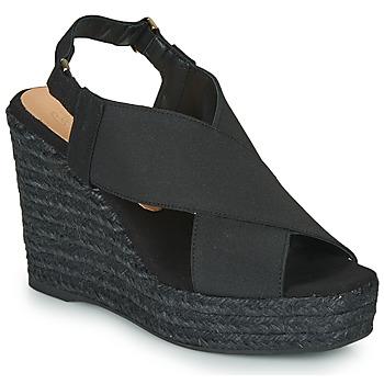 Zapatos Mujer Sandalias Castaner FEDERICA Negro