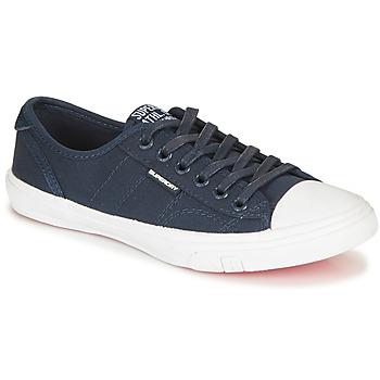 Zapatos Mujer Zapatillas bajas Superdry LOW PRO SNEAKER Marino