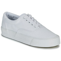 Zapatos Mujer Zapatillas bajas Superdry CLASSIC LACE UP TRAINER Blanco