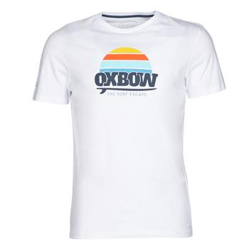 textil Hombre camisetas manga corta Oxbow M1TEKSO Blanco