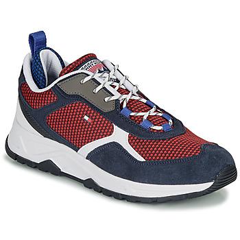 Zapatos Hombre Zapatillas bajas Tommy Hilfiger FASHION MIX SNEAKER Azul