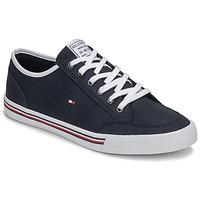 Zapatos Hombre Zapatillas bajas Tommy Hilfiger CORE CORPORATE TEXTILE SNEAKER Azul