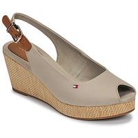 Zapatos Mujer Sandalias Tommy Hilfiger ICONIC ELBA SLING BACK WEDGE Topotea