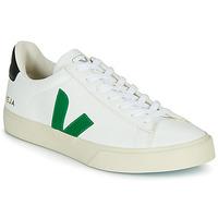 Zapatos Zapatillas bajas Veja CAMPO Blanco / Verde / Negro