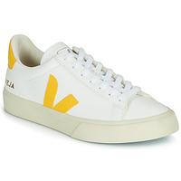 Zapatos Zapatillas bajas Veja CAMPO Blanco / Amarillo