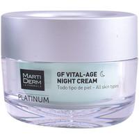 Belleza Antiedad & antiarrugas Martiderm Platinum Gf Vital Age Night Cream  50 ml