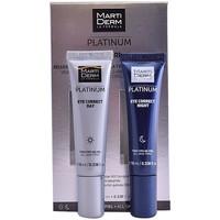 Belleza Antiedad & antiarrugas Martiderm Platinum Eye Correct Day & Night  2 x 10 ml