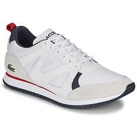 Zapatos Hombre Zapatillas bajas Lacoste AESTHET 120 2 SMA Blanco / Azul / Rojo