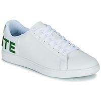 Zapatos Hombre Zapatillas bajas Lacoste CARNABY EVO 120 7 US SMA Blanco / Verde