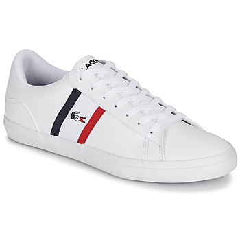 Zapatos Hombre Zapatillas bajas Lacoste LEROND TRI1 CMA Blanco / Azul / Rojo