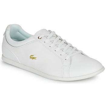 Zapatos Mujer Zapatillas bajas Lacoste REY LACE 120 1 CFA Blanco / Oro