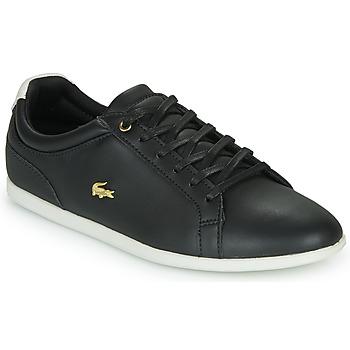 Zapatos Mujer Zapatillas bajas Lacoste REY LACE 120 1 CFA Negro / Blanco