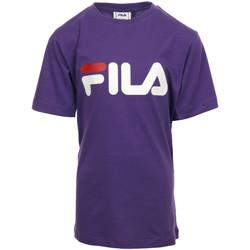 textil Niña camisetas manga corta Fila Kids Classic Logo Tee