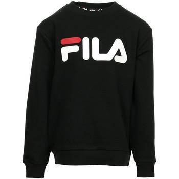 textil Niños sudaderas Fila Kids Classic Logo Crew Sweat Negro