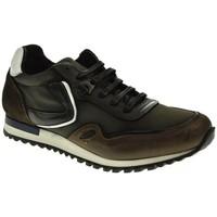 Zapatos Hombre Zapatillas bajas Baerchi 5102 Marrón