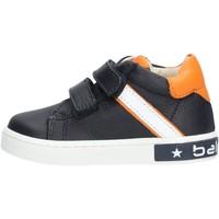 Zapatos Niño Zapatillas bajas Balducci - Polacchino blu/arancione MSPO3052 BLU