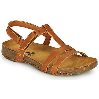 Zapatos Mujer Sandalias Art I BREATHE Marrón
