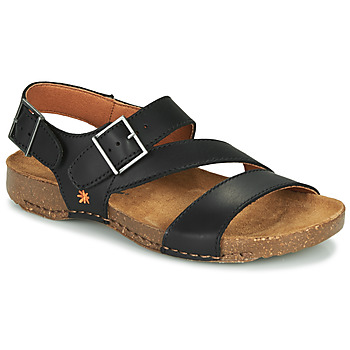 Zapatos Sandalias Art I BREATHE Negro
