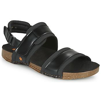 Zapatos Hombre Sandalias Art I BREATHE Negro
