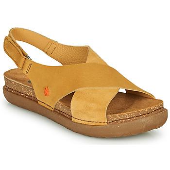 Zapatos Mujer Sandalias Art RHODES Mostaza