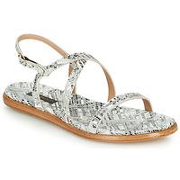 Zapatos Mujer Sandalias Neosens AURORA Blanco / Plateado