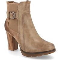 Zapatos Mujer Botines Ainy 5960 Kaki