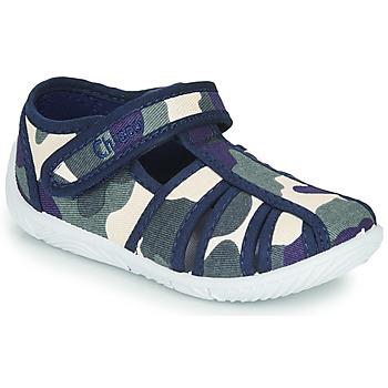 Zapatos Niño Pantuflas Chicco TULLIO Azul / Blanco