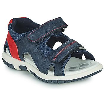 Zapatos Niño Sandalias de deporte Chicco FLORIAN Marino / Rojo