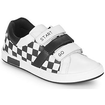 Zapatos Niño Zapatillas bajas Chicco CANDITO Blanco / Negro