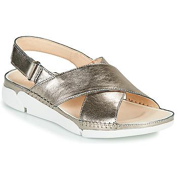 Zapatos Mujer Sandalias Clarks Tri Alexia Plata