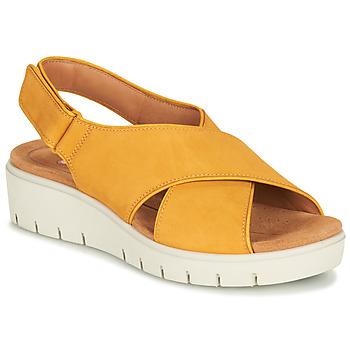 Zapatos Mujer Sandalias Clarks UN KARELY SUN Mostaza