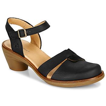 Zapatos Mujer Sandalias El Naturalista AQUA Negro