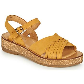 Zapatos Mujer Sandalias El Naturalista TÜLBEND Amarillo