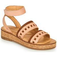 Zapatos Mujer Sandalias El Naturalista TÜLBEND Rosa / Marrón