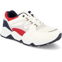 Zapatos Hombre Zapatillas bajas Tony.p BL-31 Blanco