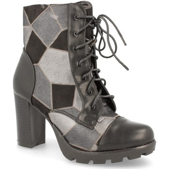 Zapatos Mujer Botas urbanas H&d LL88-255 Negro