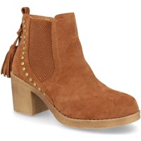 Zapatos Mujer Botines H&d YZ19-19 Camel