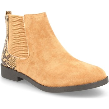 Zapatos Mujer Botines H&d YZ19-28 Camel