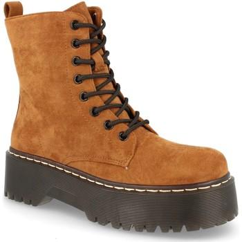 Zapatos Mujer Botas de caña baja Bunoratti 2AD-9353 Camel