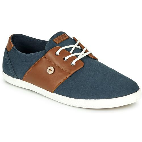 Zapatos Hombre Zapatillas bajas Faguo CYPRESS Marino / Marrón