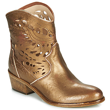 Zapatos Mujer Botines Fru.it COWGOLD Bronce